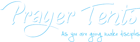 Prayer Tents Text Logo